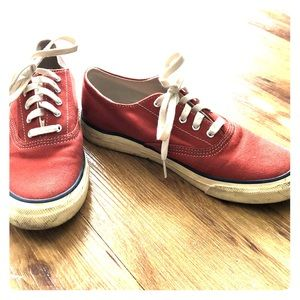 Sperry Top-sider - red